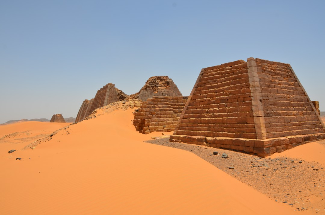 Sudan's 'forgotten' pyramids risk being buried Pyramids covered by sand