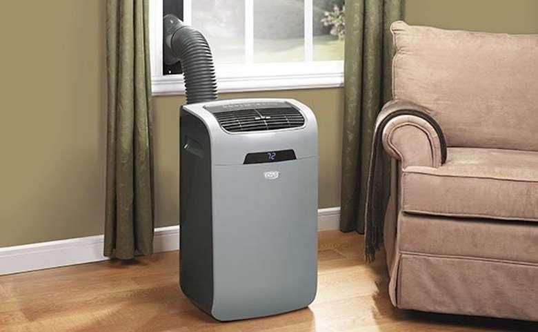 Equipo de aire acondicionado portátil