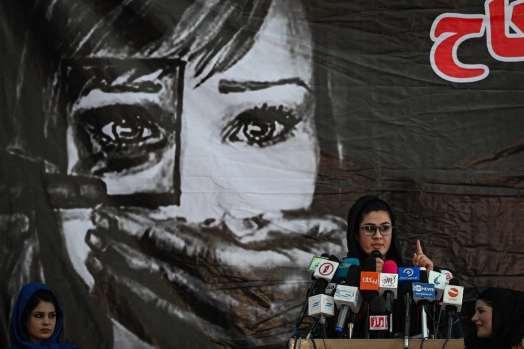 Réunion de femmes à Kaboul
