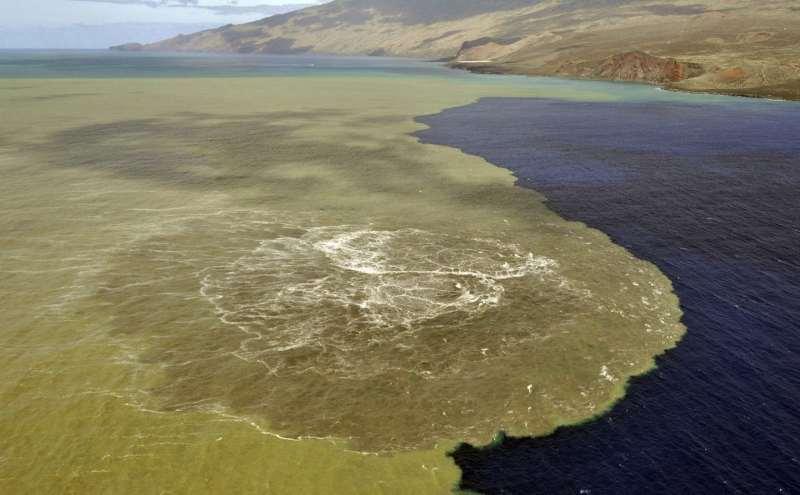 El Hierro undersea eruption
