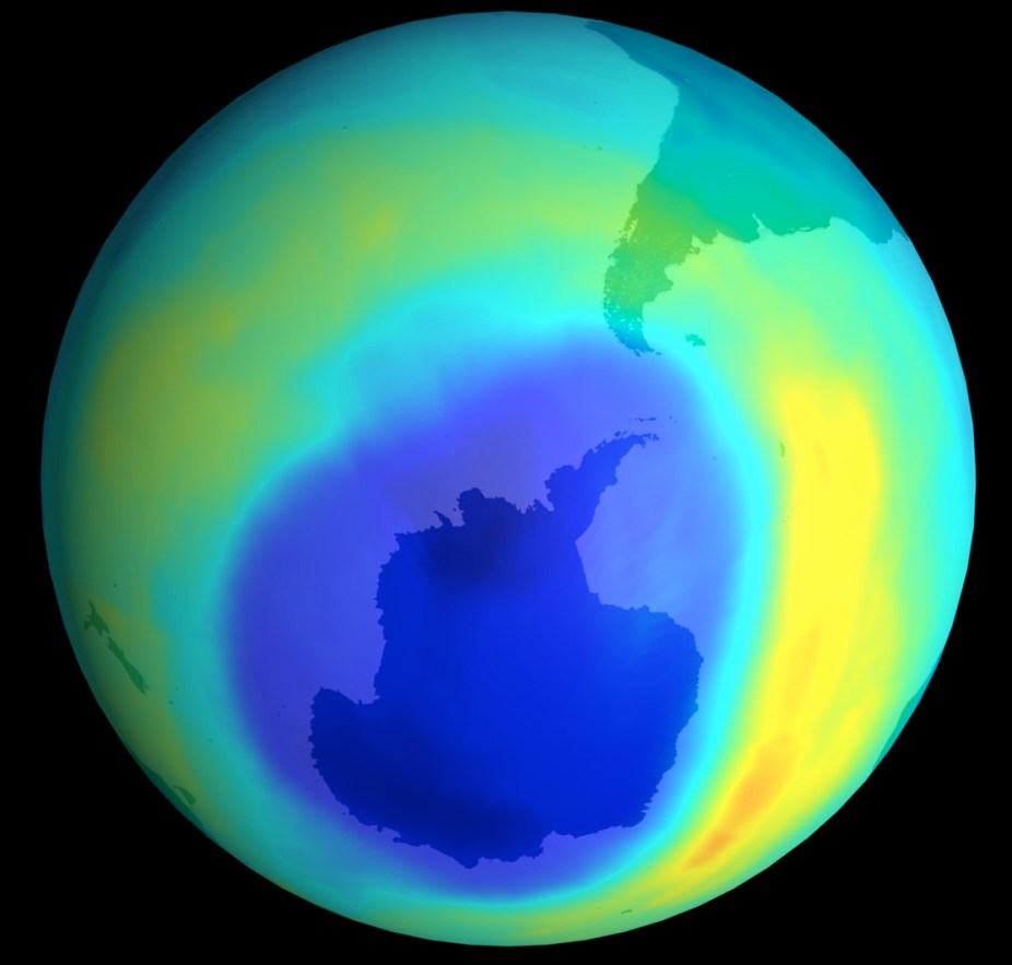 Earth's ozone layer threatened by new man-made gases