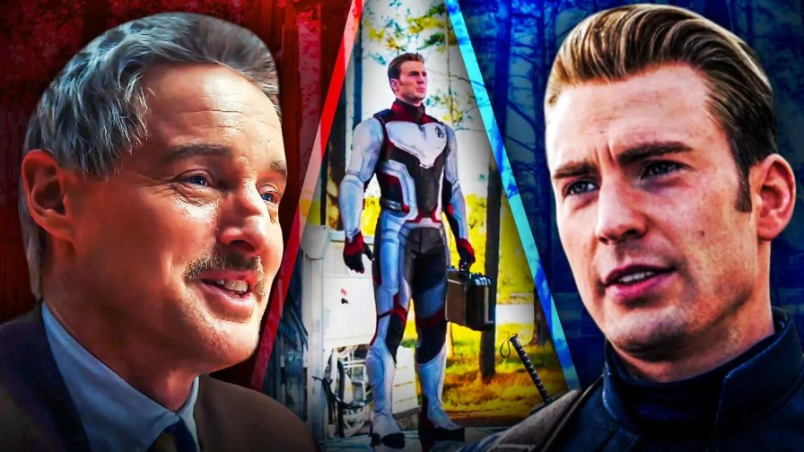 Avengers Endgame Captain America Time Travel