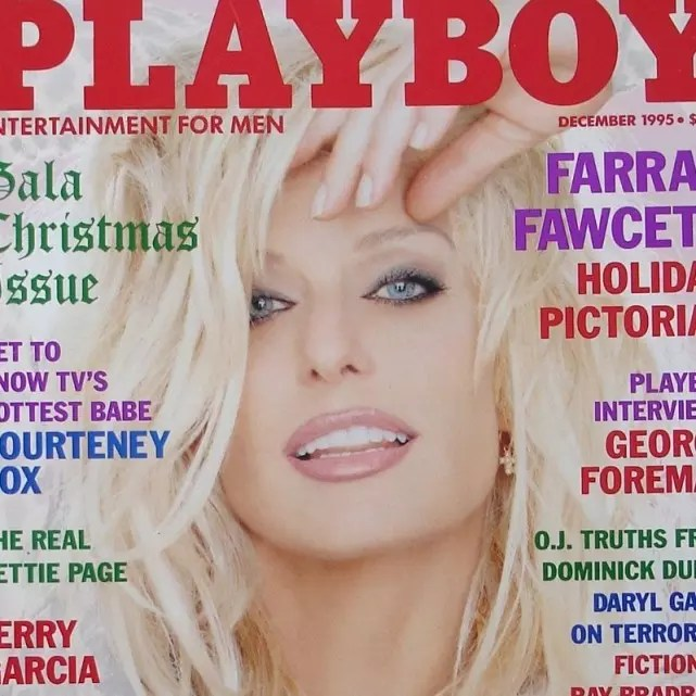 from Aaron farrah fawcett playboy images