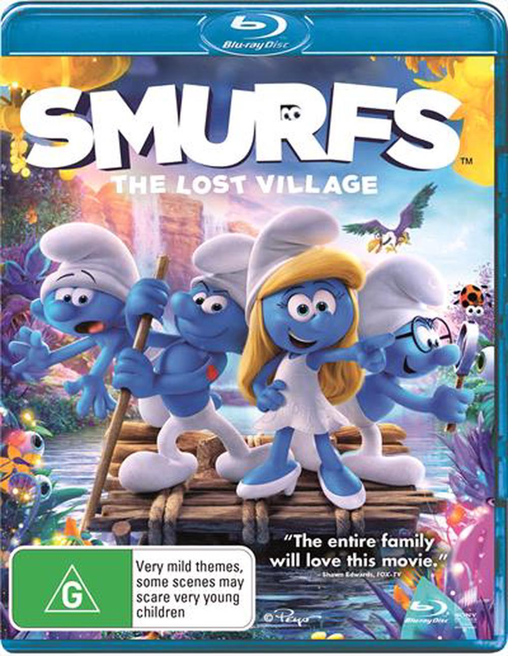 Smurfs Lost Village The Blu Ray Buy Online At The Nile