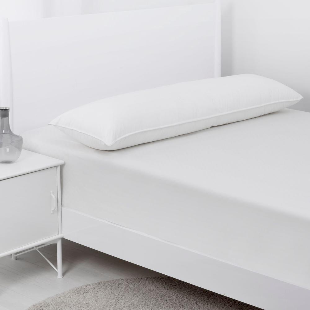 dreamaker down alternative body pillow