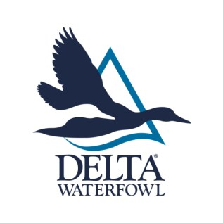 delta waterfowl logo blue