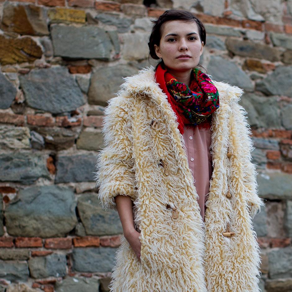 florence fluffy jacket
