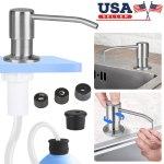 Kitchen Sink Soap Dispenser 47 Inch No Spill Extension Tube Kit Brushed Nickel For Sale Online Ebay