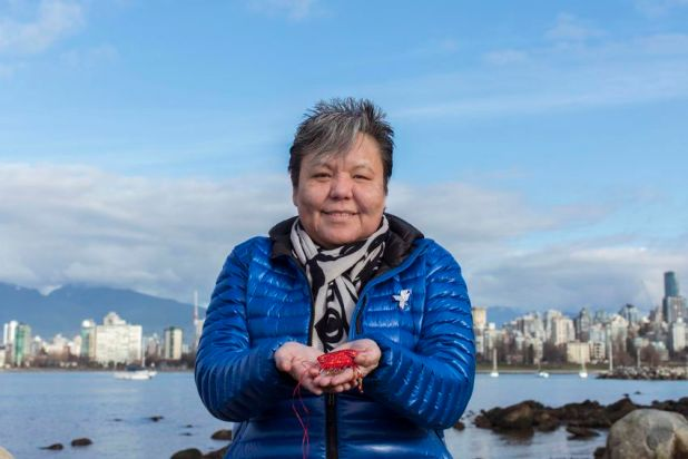 Marlene Jack, sister of Doreen Jack, missing since 1989. Photographed in Vancouver.