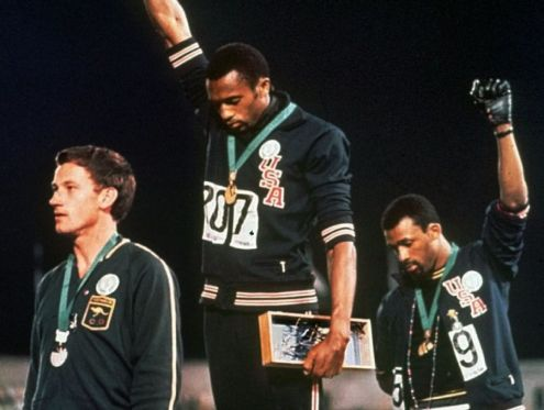 Image result for olympic 1967 salute