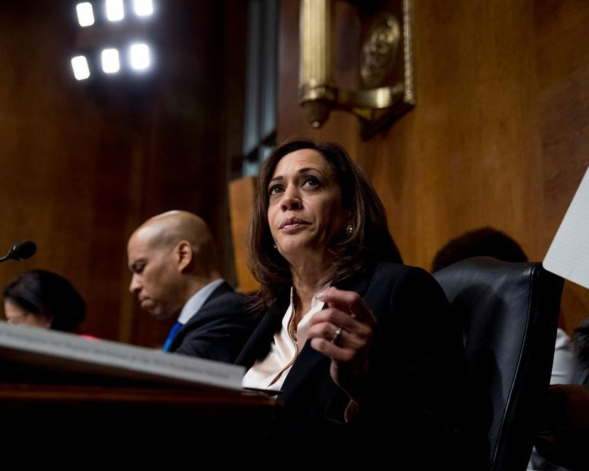 NY525 51 2019 113917 - Harris says she disagrees with Biden on crime bill's impact