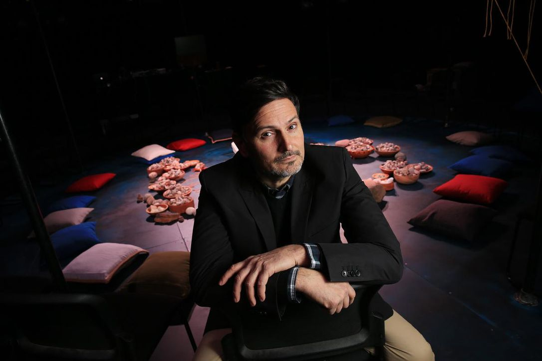 pillows - Theatre's Parkdale pillar, Franco Boni, reflects on his legacy as he moves to Vancouver