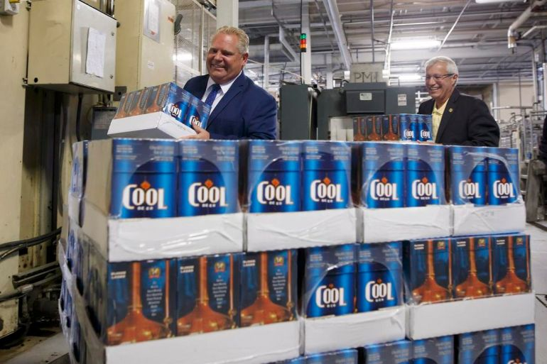 Image result for doug ford buck a beer