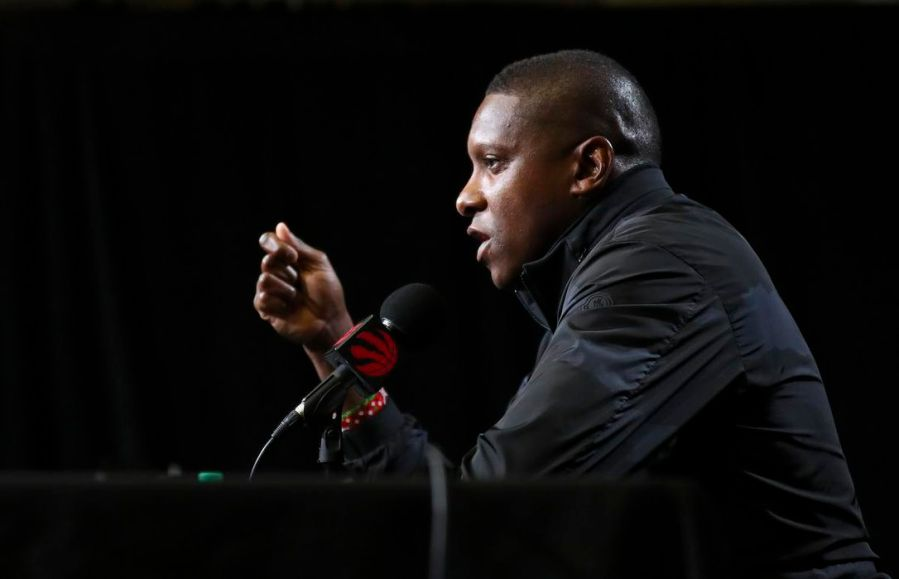 Image result for Masai Ujiri Media Day 2019