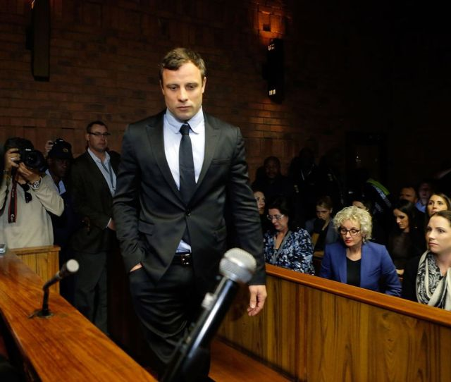 Oscar Pistorius Appears In Pretoria Magistrates Court For An Indictment Hearing Monday In Pretoria South