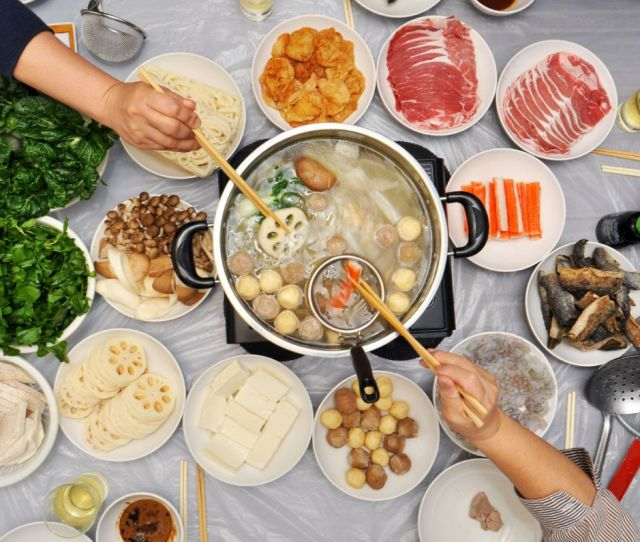 Many Chinese Households Look Forward To Hot Pot A Form Of Communal Dining Where People