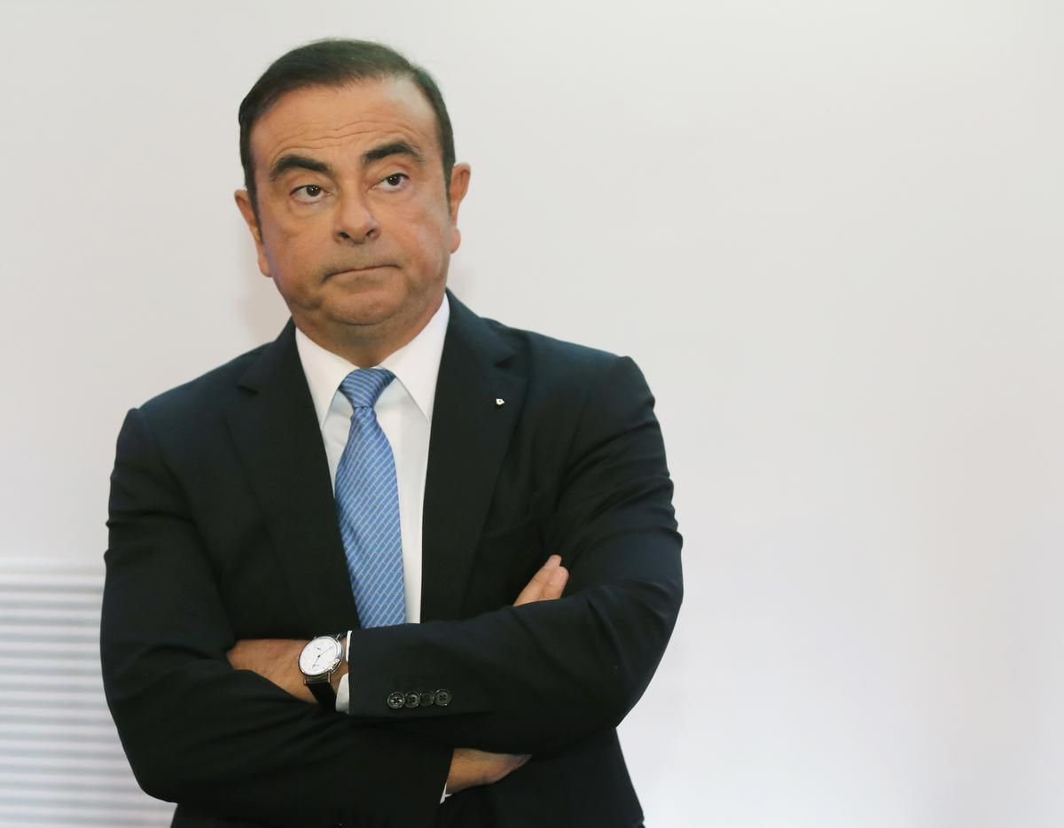 ghosn - Ghosn to reimburse Versailles Palace for 2016 wedding costs