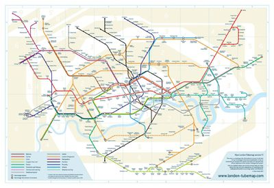London s iconic underground map could use facelift  designer says     London s iconic underground map could use facelift  designer says  But what  about TTC    The Star