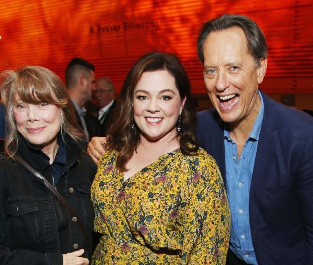 From Left Sissy Spacek Melissa Mccarthy And Richard E Grant Attend The Fox