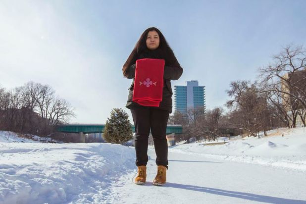 Rinelle Harper, survivor, advocate. Photographed in Winnipeg.