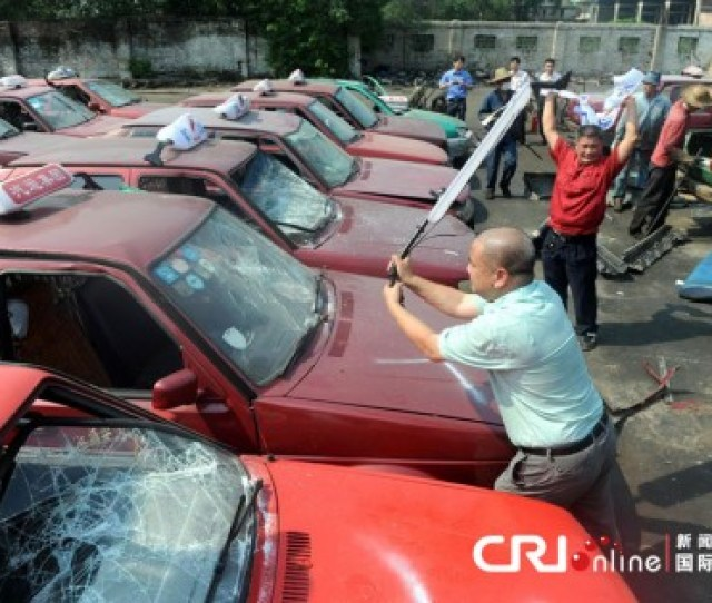 Fake In China Destruction Of Bogus Taxi Fleet Ordered
