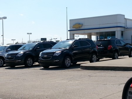 Chevy Equinox Trio Picture by David Hester