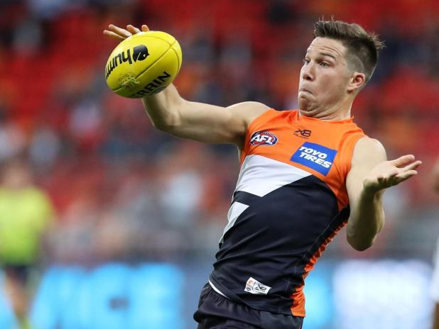 Toby Greene has been the target of Malcolm Blight's banter.