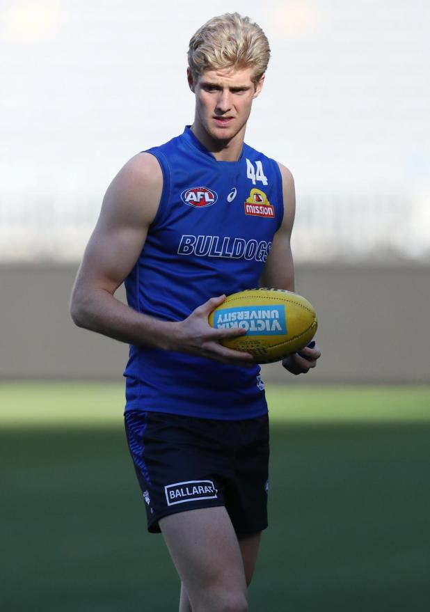 New Western Bulldogs recruit Josh Bruce is tipping WA ruckman Tim English to shine in 2020.