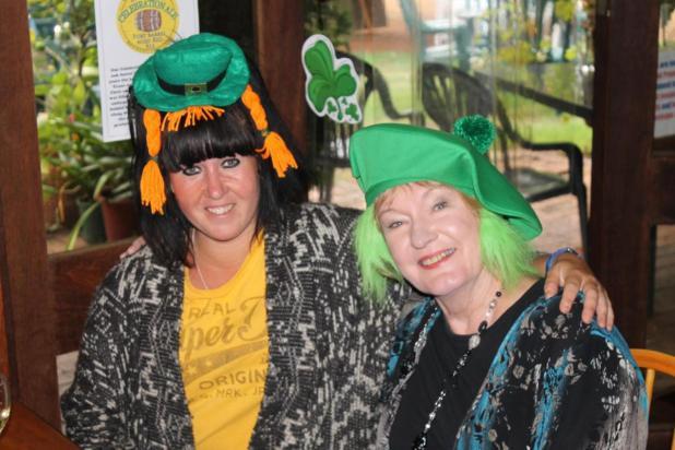 Sarah Mayors and Susie Benson-Parry, both of Bridgetown.