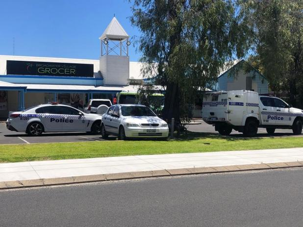 Police are responding to an incident at the shopping centre's pharmacy.