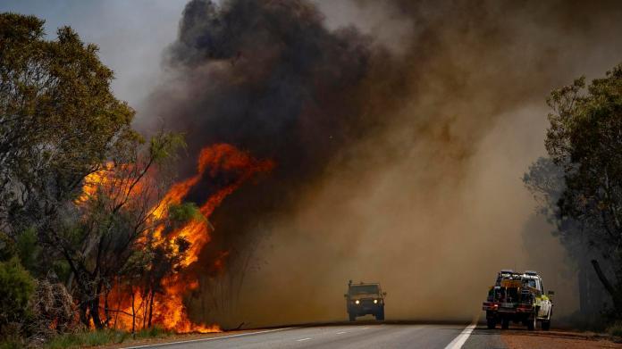 Image result for perth bushfires 2021