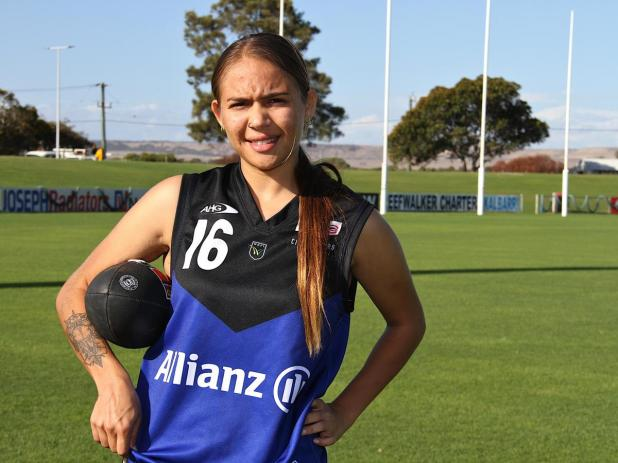Towns' Aaliyah Jones has been a standout player in the Great Northern Football Women's League.
