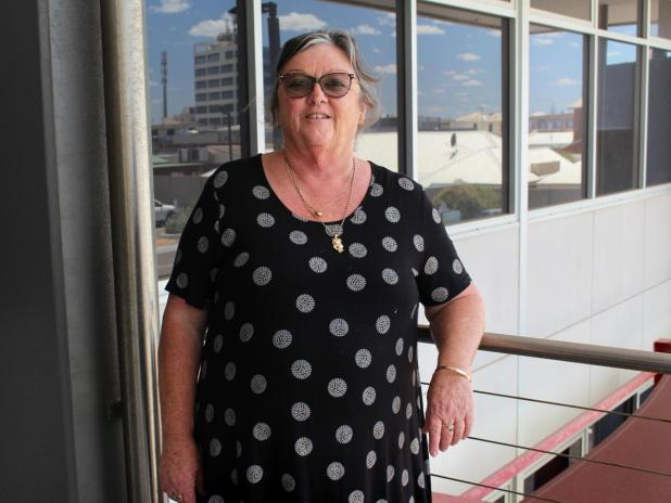 Disability advocate Linda Moore.