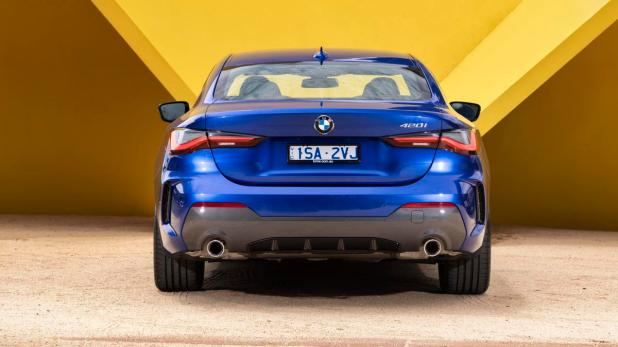 The BMW 4 Series Coupe is big and bold with a macho stance.