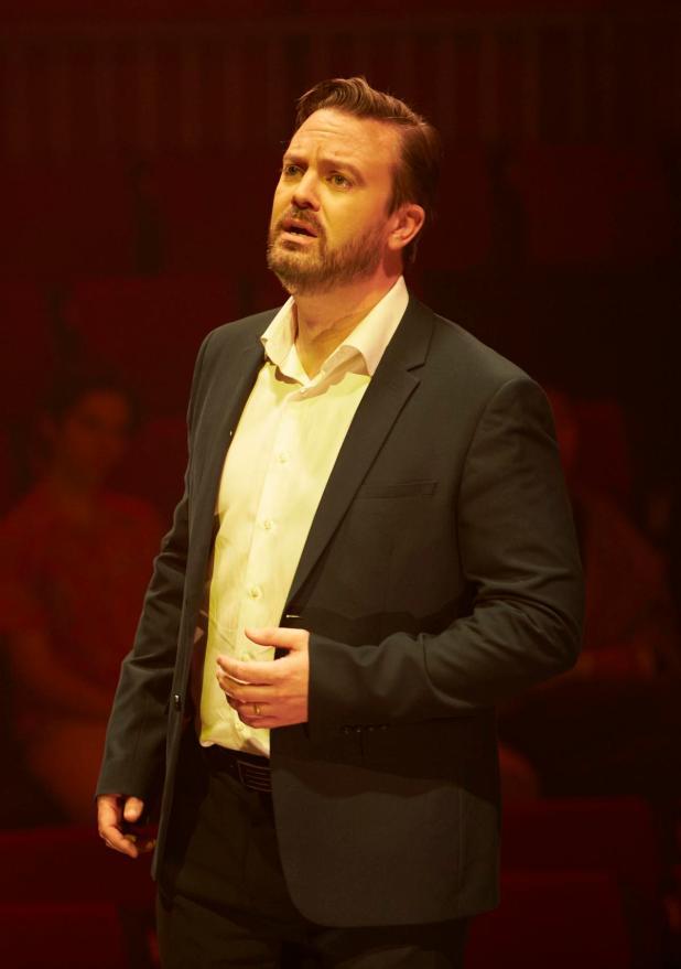 Tenor Paul O'Neill in WA Opera and UWA's Elijah at Winthrop Hall.
