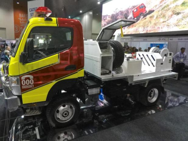 Fuso Canter's size delivers a top spec for support work.