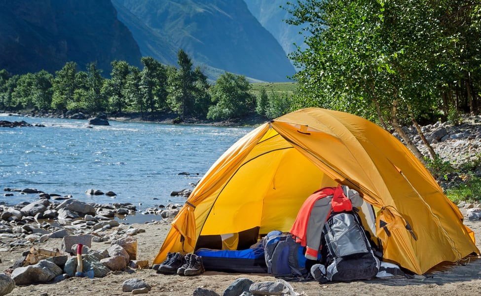 Image result for camping in rishikesh