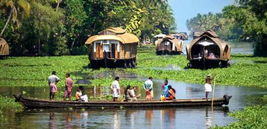 Image result for Alleppey Backwaters