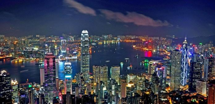 Image result for hong kong night