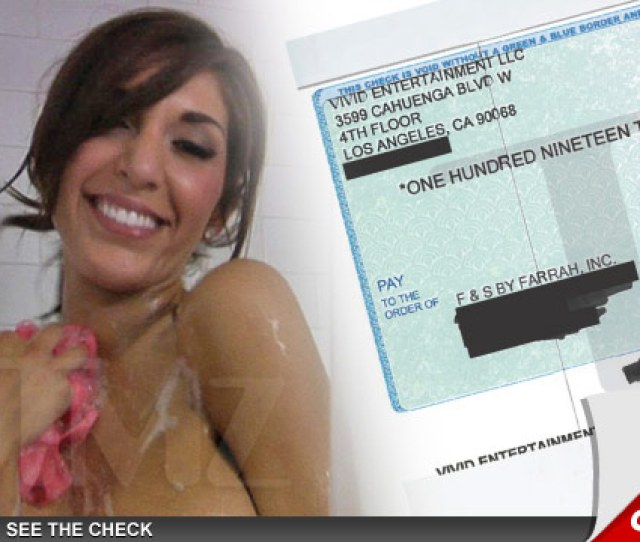 Farrah Abraham Has Money Coming Out Of Her Ass Shes Raked In Sex Tape Royalties Totaling More Than 100k In Just 2 Months