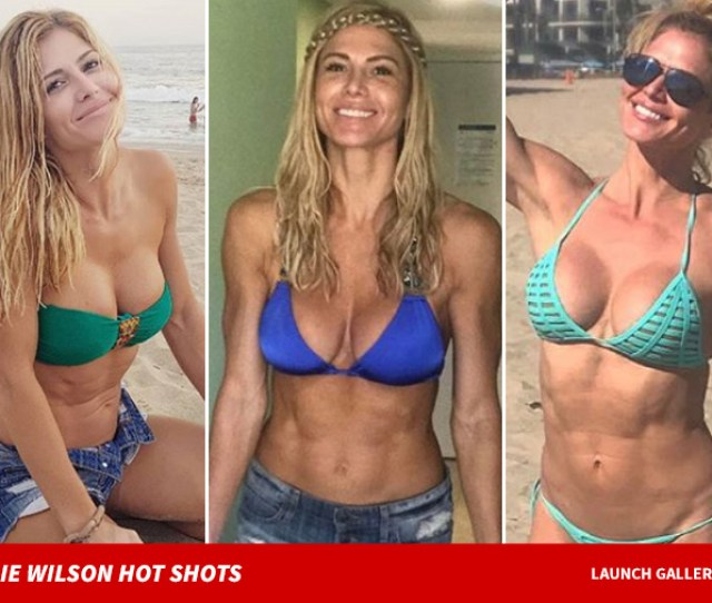 By The Way Wilson Looks Amazing Did We Mention Shes A Fitness Aholic So Check Out Some Of The Pics Below Which Prove Working Out Really Does