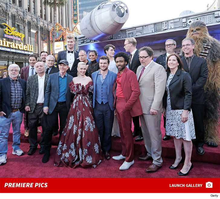 """Harrison Ford not showing up to the """"Solo: A Star Wars Story"""" premiere  would be like Ron Howard not showing up to anything remotely related to  """"Happy Days"""" ..."""