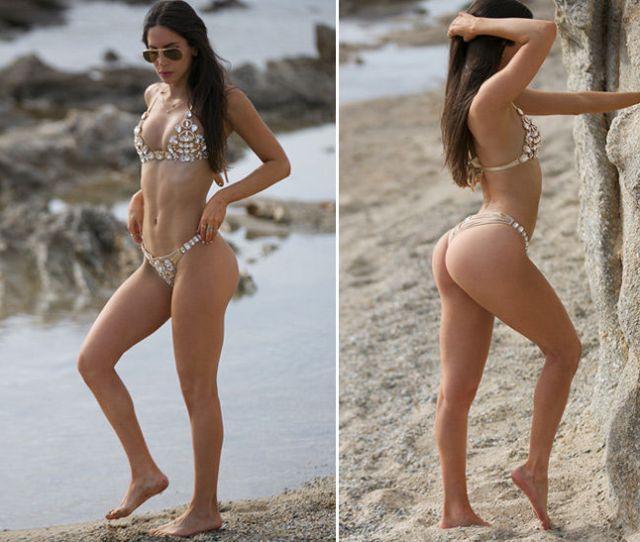 Jen Selter All Greeced Up In New Bikini Butt Pics