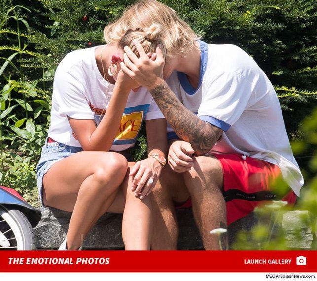 Justin Bieber and Hailey Baldwin Get Emotional During NYC Bike Ride