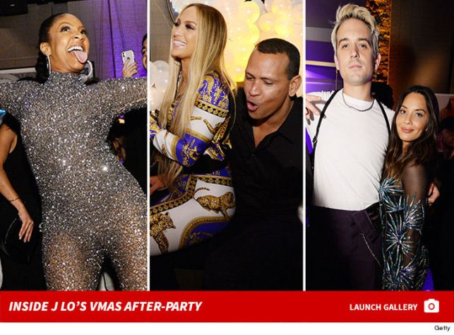 Jennifer Lopez Grinds Up on Alex Rodriguez at MTV VMAs After-Party