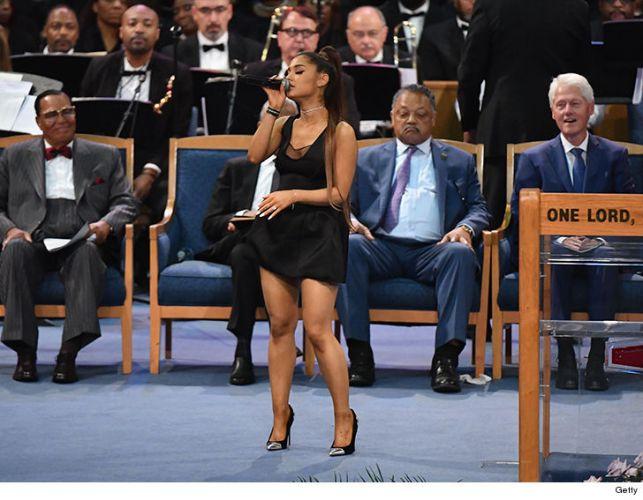 Smokey Robinson Says Ariana Grande's Dress 'Inappropriate' And Trump is Stupid