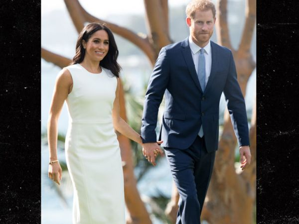 Prince Harry and Meghan Markle All Smiles On Heels of ...