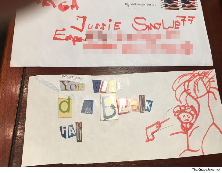 0129_Jussie-Smollett_hate-letter-ThatGrapeJuice