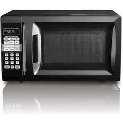 hamilton beach 0 9cu ft microwave oven stainless steel distressed major appliances microwave ovens