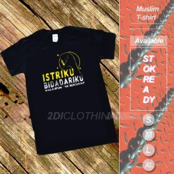 """Allah says in the qur'an, """"who is it that would loan allah a goodly loan so he may multiply it for him many times over? Jual Kaos Quotes Muslim Murah Harga Terbaru 2021"""